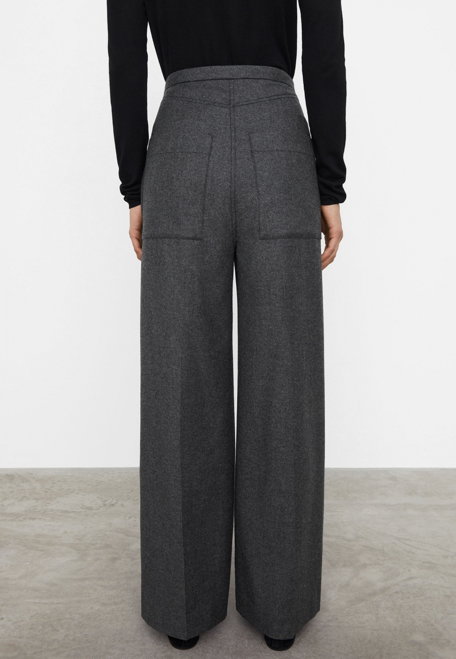 Totême Wide Business Trousers