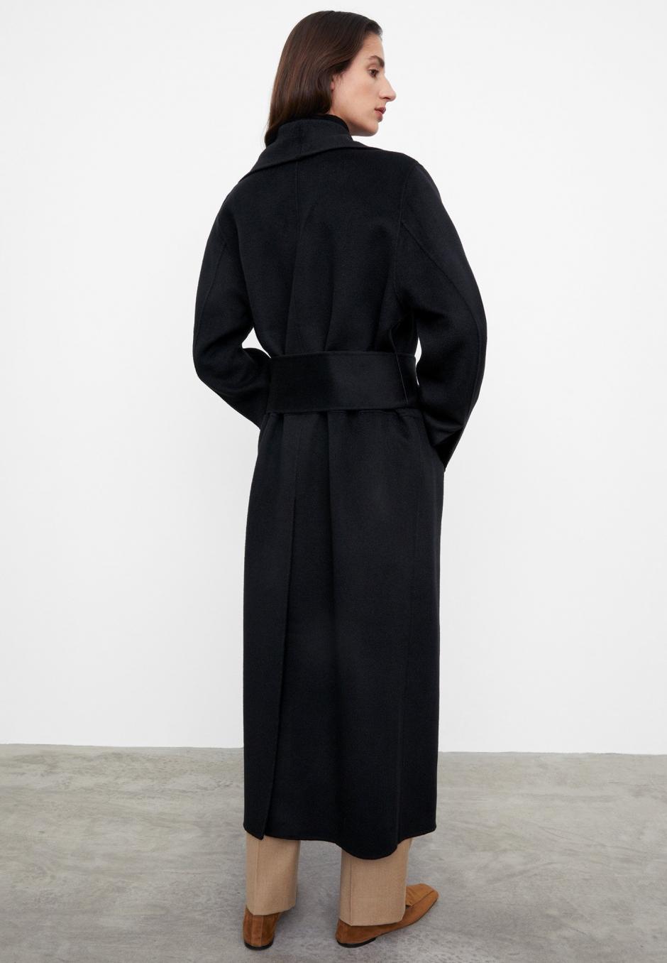 Totême Robe Coat Black