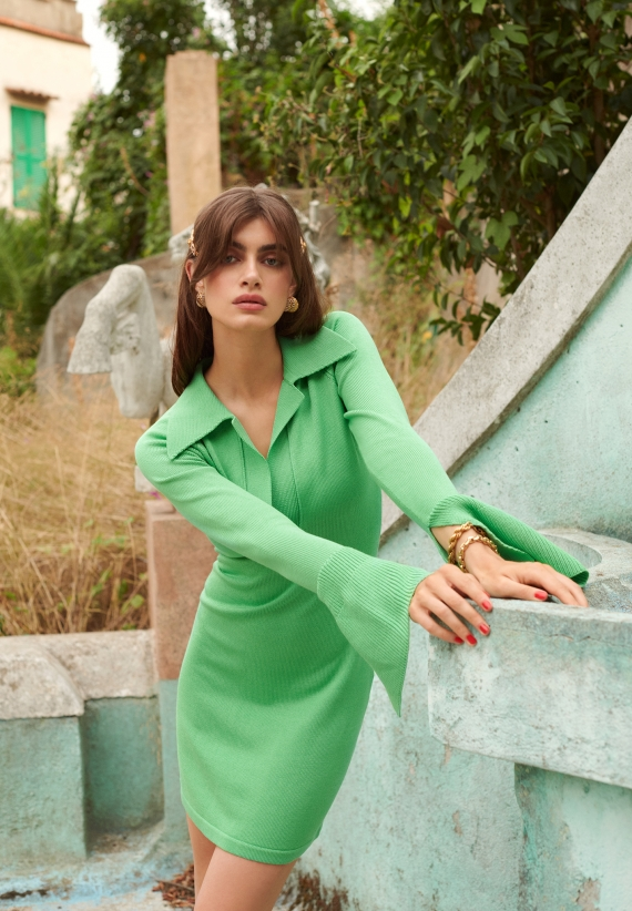 Adoore Day-To-Night Dress Green