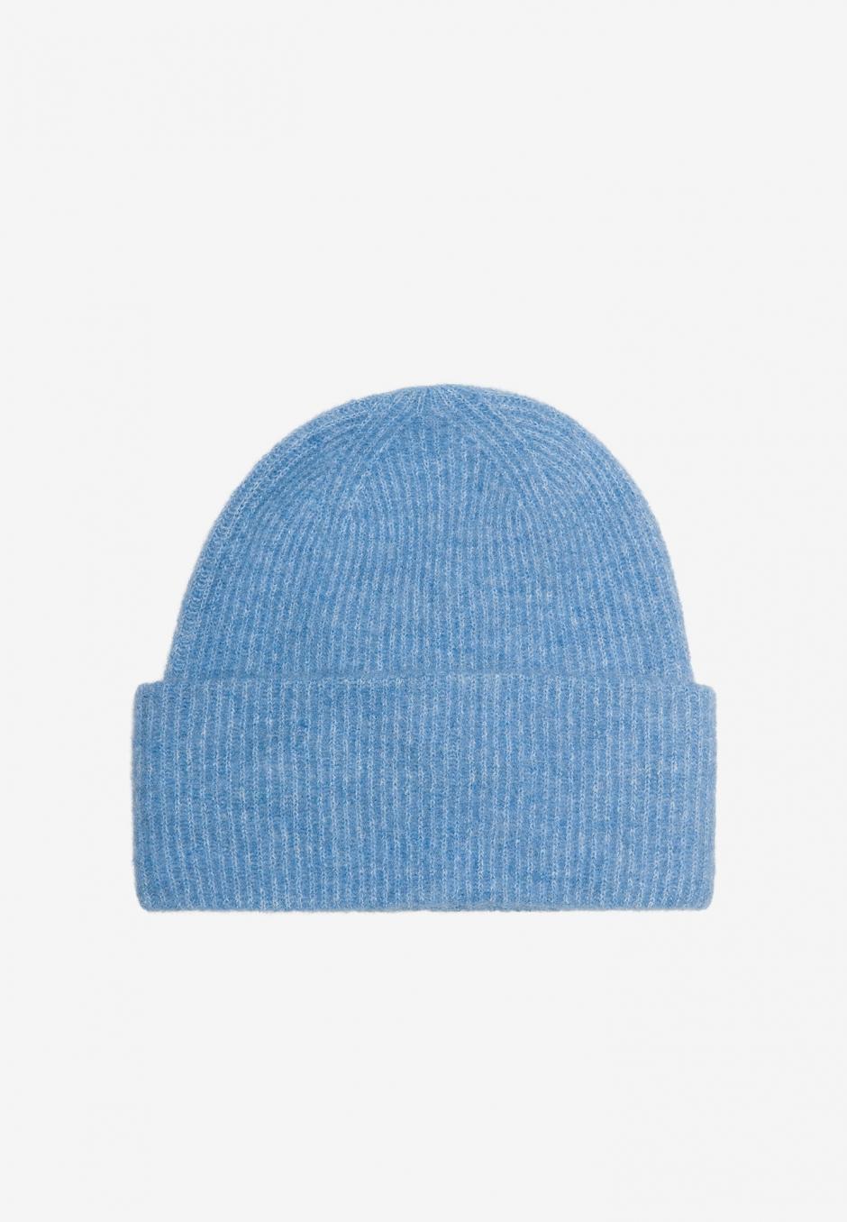 Samsøe Samsøe Nor Hat Lichen Blue Melange