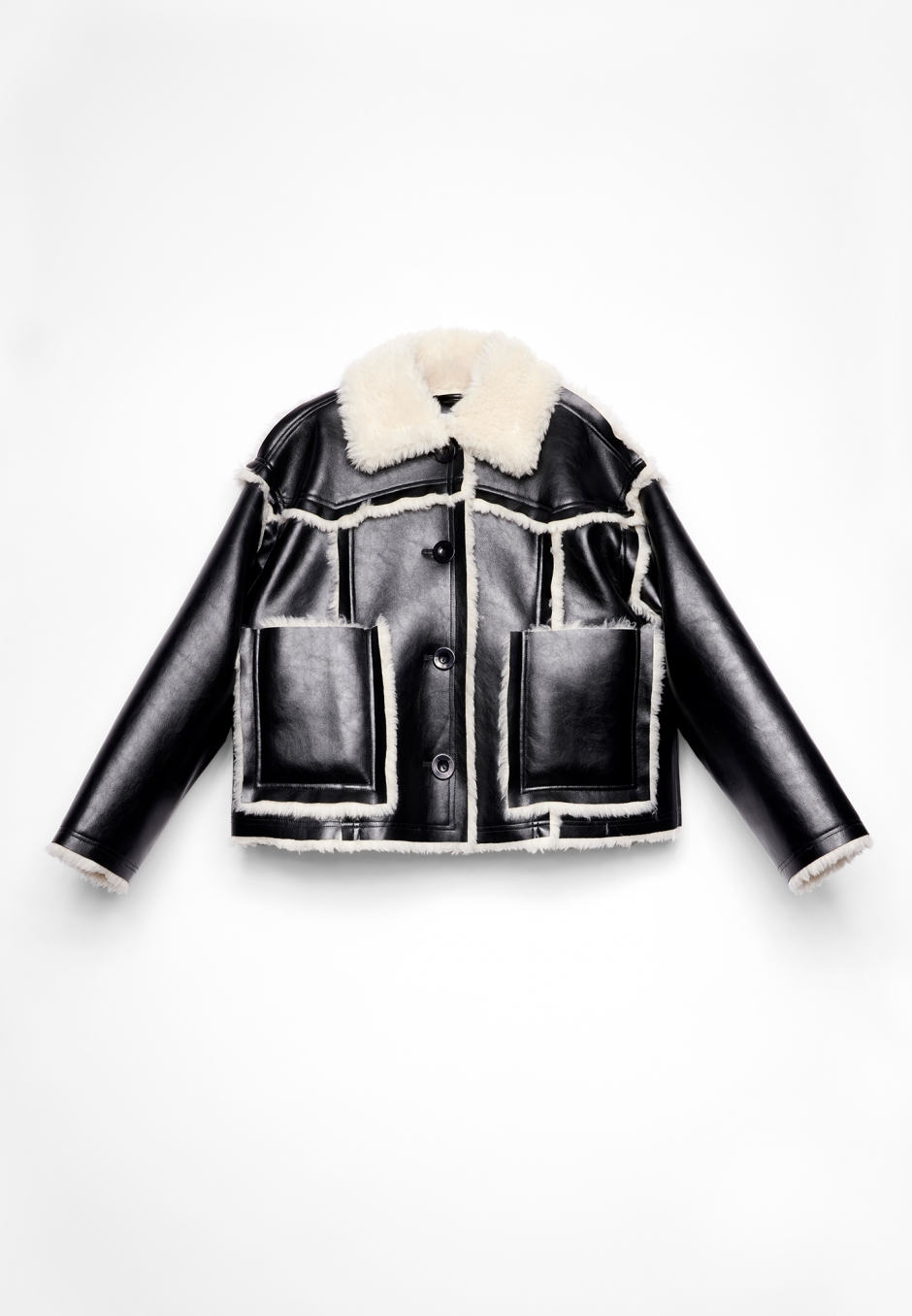 Stand Studio Callie Cropped Jacket