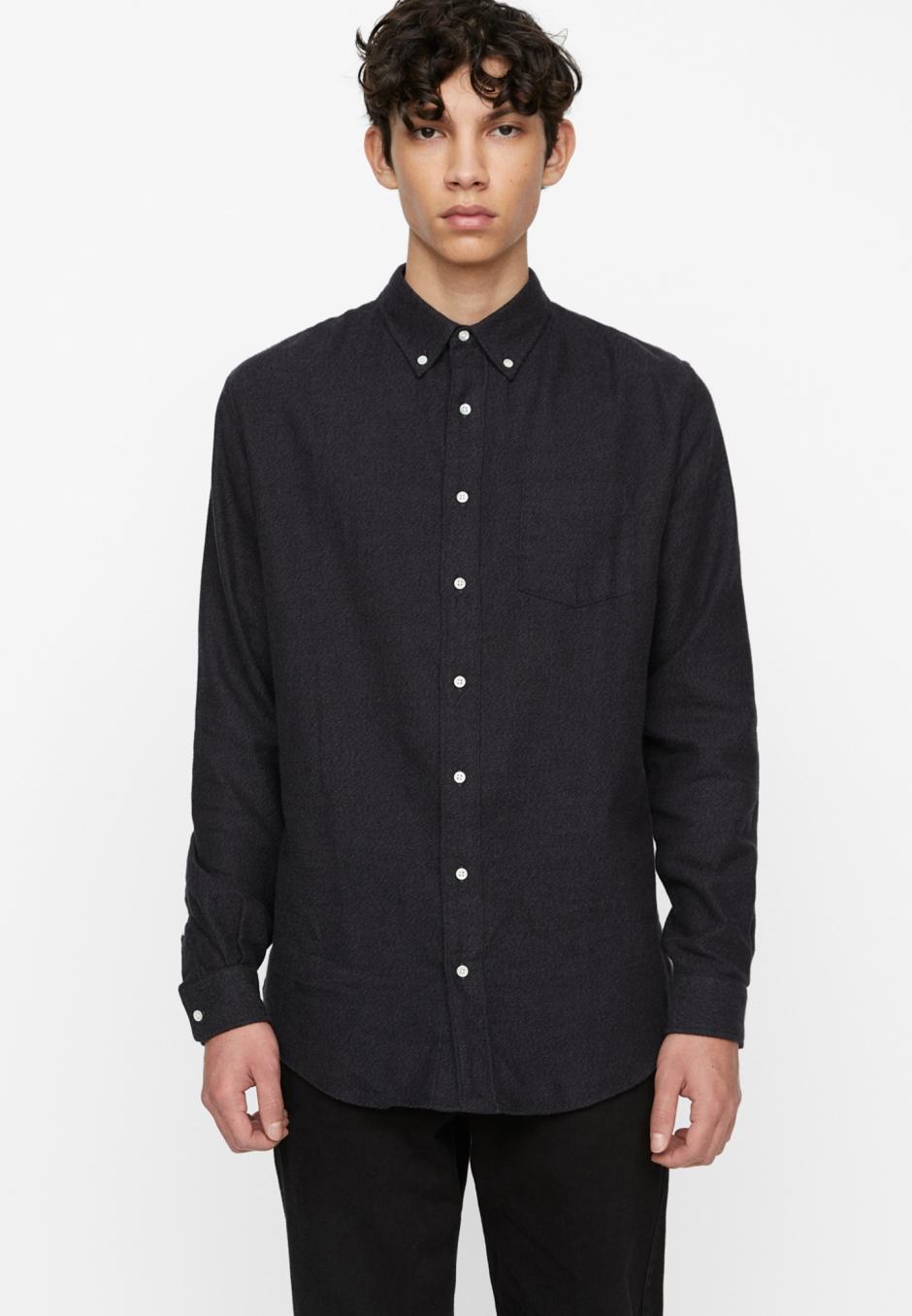 Schnayderman's Shirt BD Flannel Melange