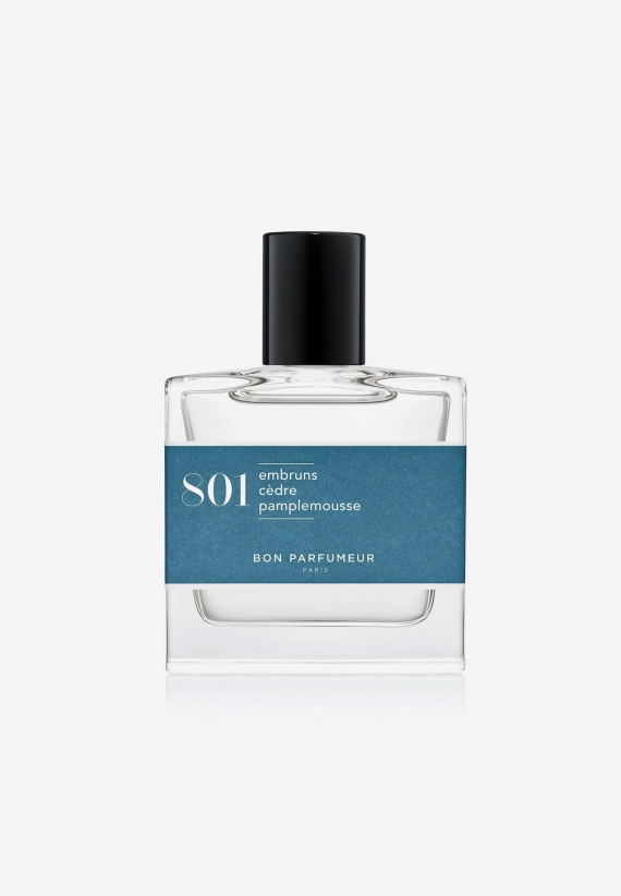 Bon Parfumeur EdP 801: sea spray/cedar/grapefruit 30ml