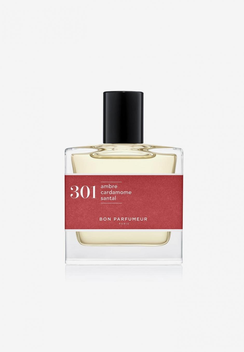 Bon Parfumeur EdP 301: sandalwood/amber/cardamom 30ml