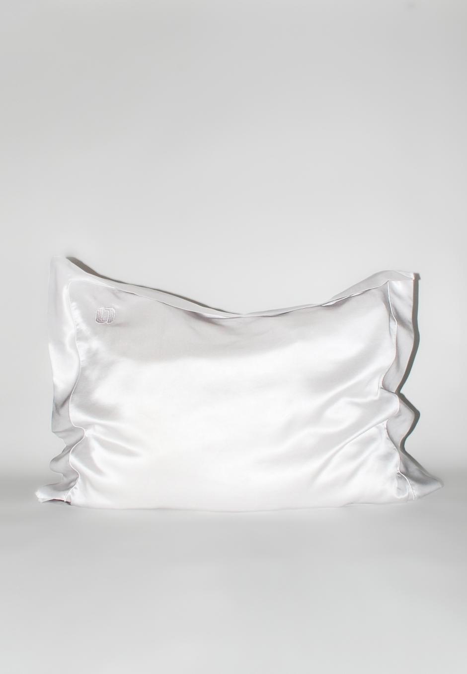 Our New Routine Silk Pillowcase - 001 White