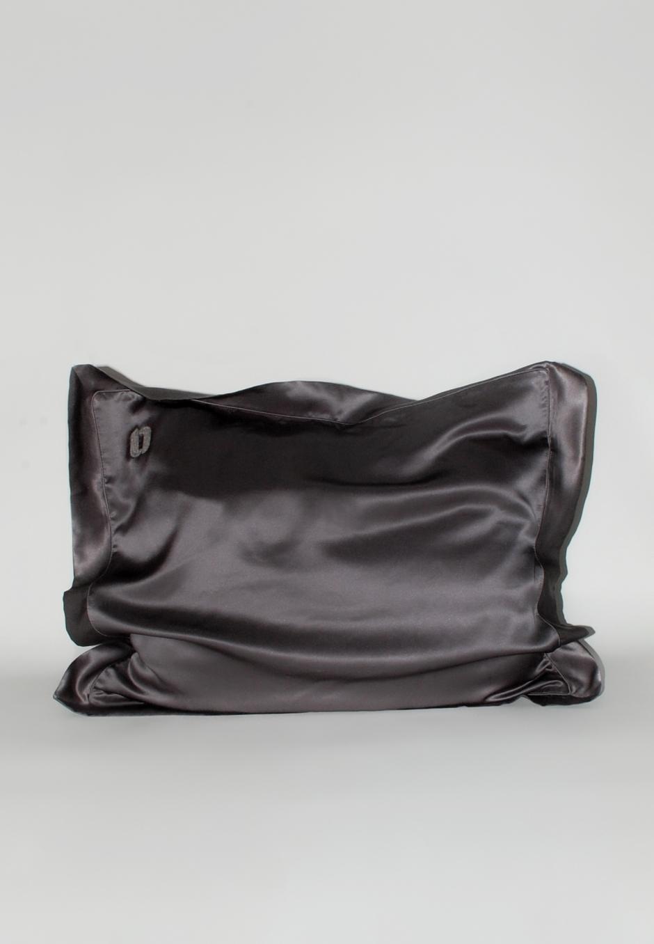 Our New Routine Silk Pillowcase - 003 Dark Gray
