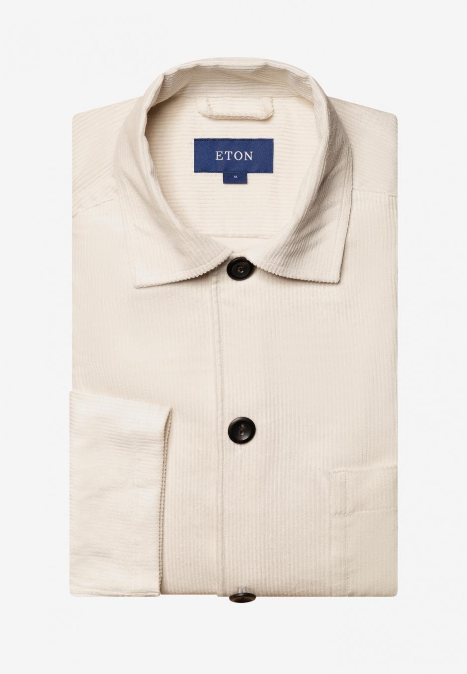 Eton Corduroy Overshirt