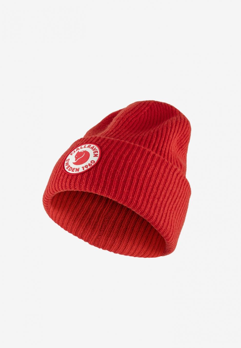 Fjällräven 1960 Logo Hat True Red