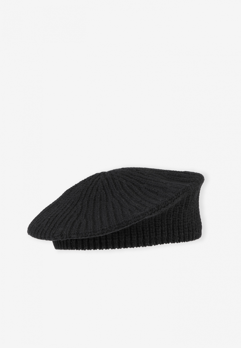 Ganni Recycled Wool Beret