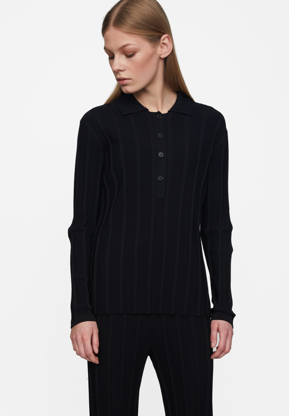 Just Female Fate Knit Polo