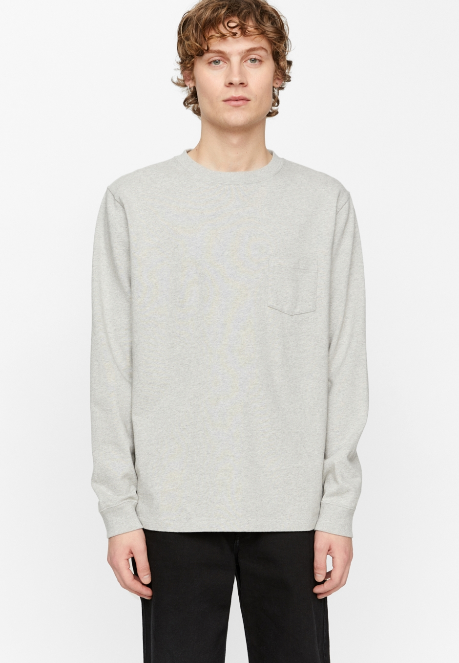 Schnayderman's T-shirt Longsleeve Deli Print