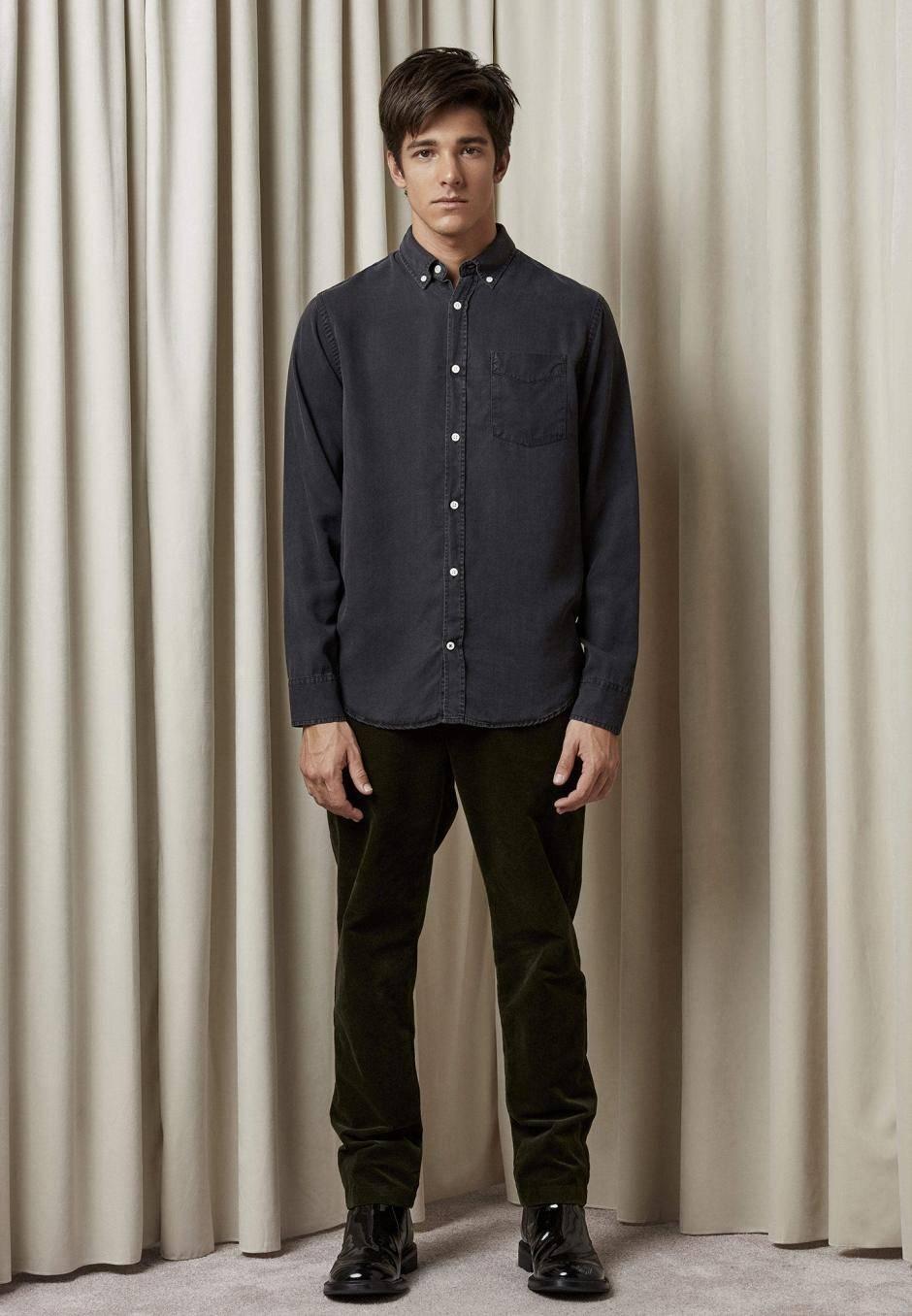 NN 07 Manza Slim 5767 Tencel Shirt
