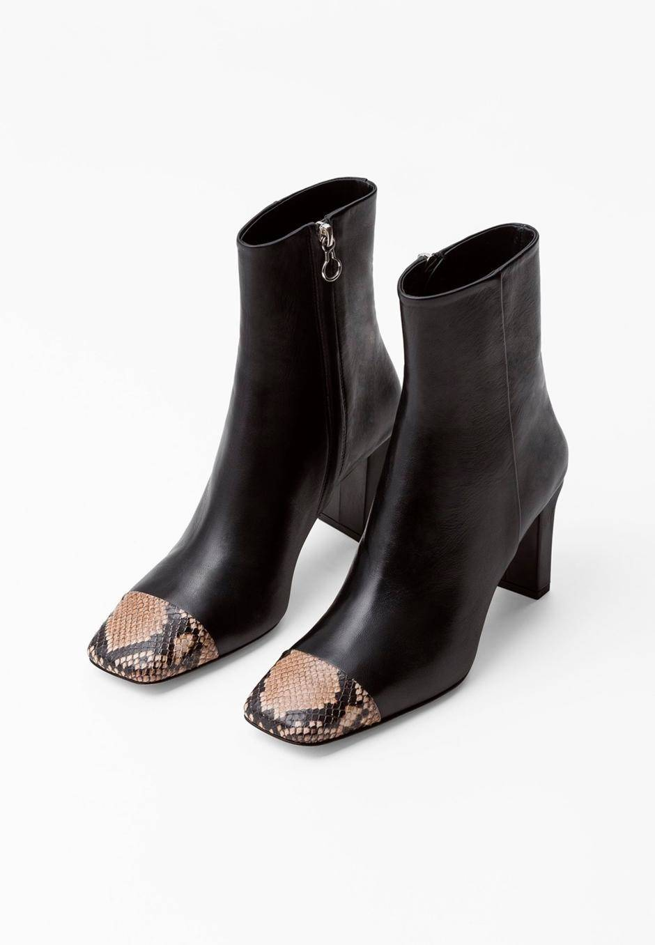 Aeydē Belle leather/snake