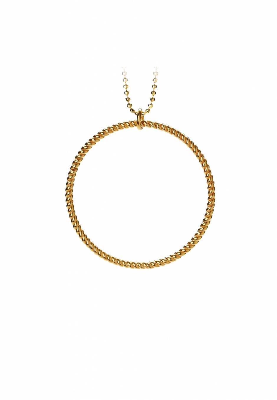 Pernille Corydon Big twisted necklace