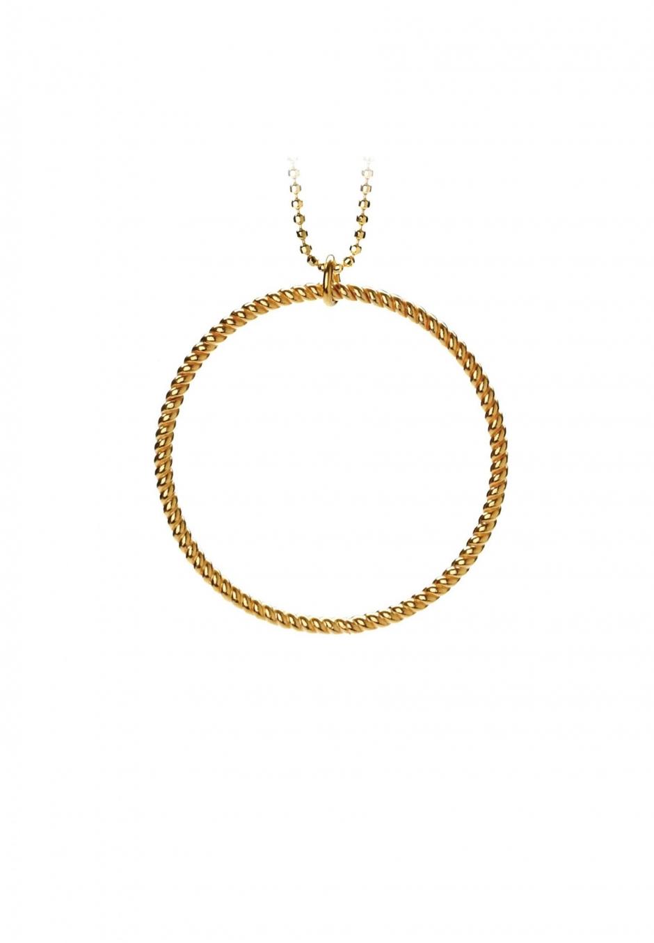Pernille Corydon Big twisted necklace