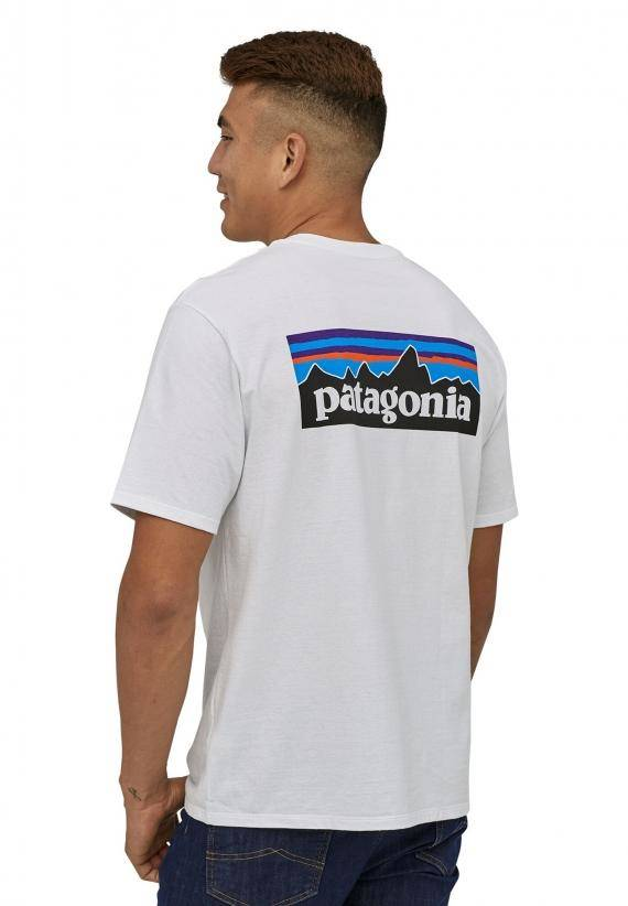 Patagonia P-6 Logo respons tee