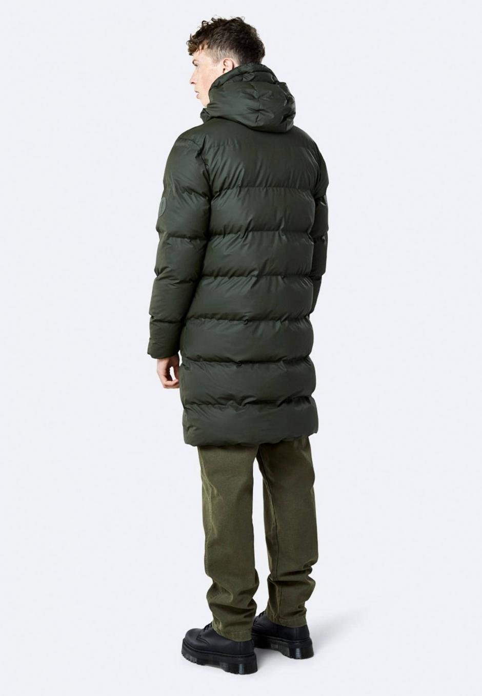 Rains Long Puffer Jacket