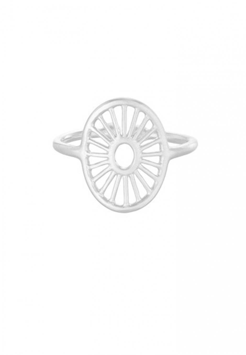 Pernille Corydon Small Daylight ring silver