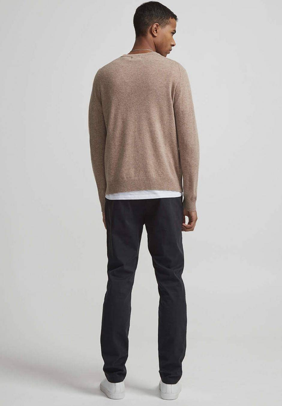 NN 07 Marco 1400 Slim Cotton Chino Black