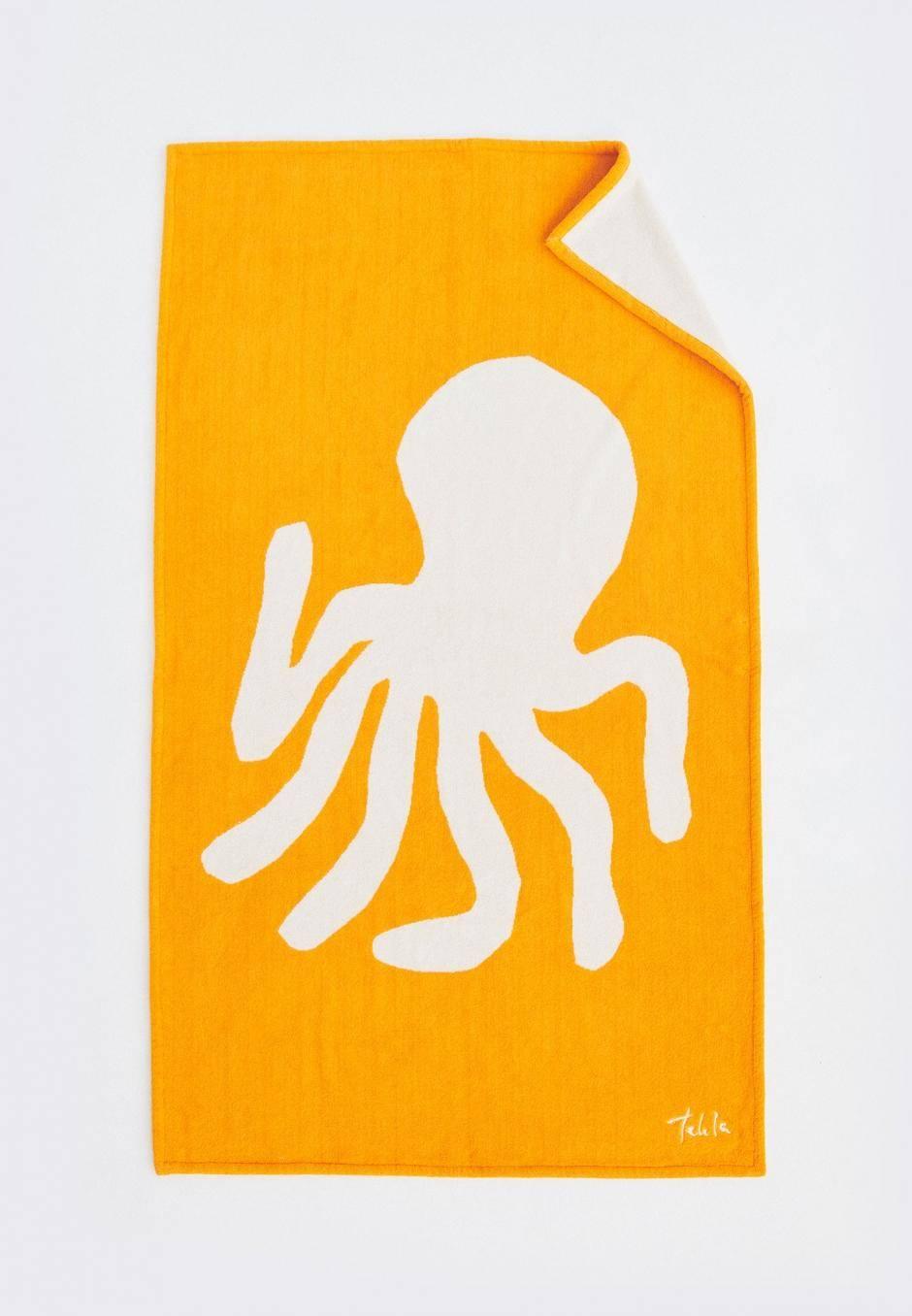 Tekla Beach Towel - Octopus