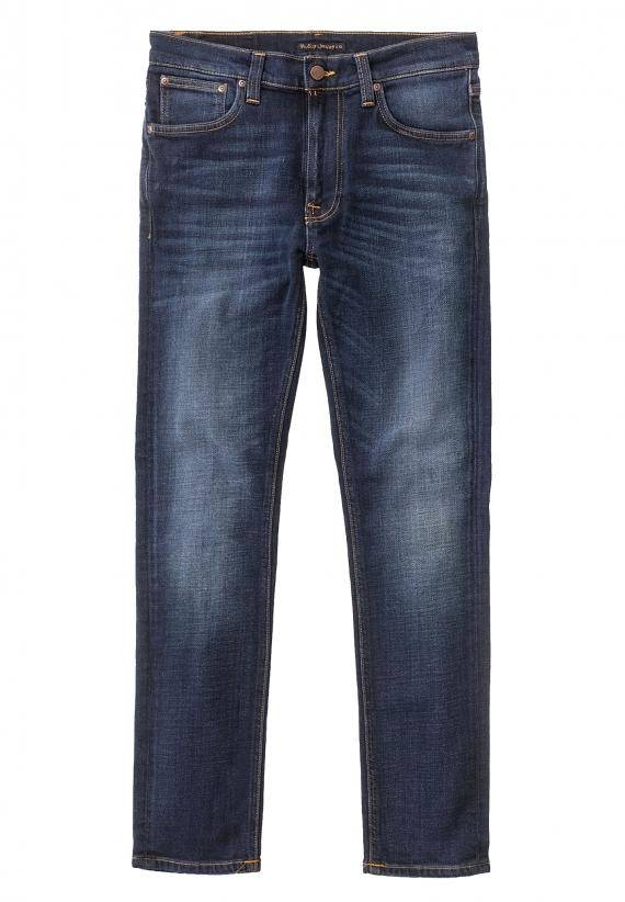 Nudie Jeans Lean Dean Dark Deep Worn