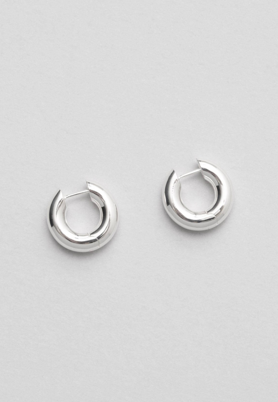 All Blues Almost Earrings Thick Polished