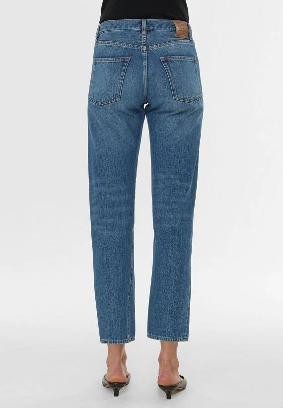 Totême Twisted Seam Denim Washed Blue
