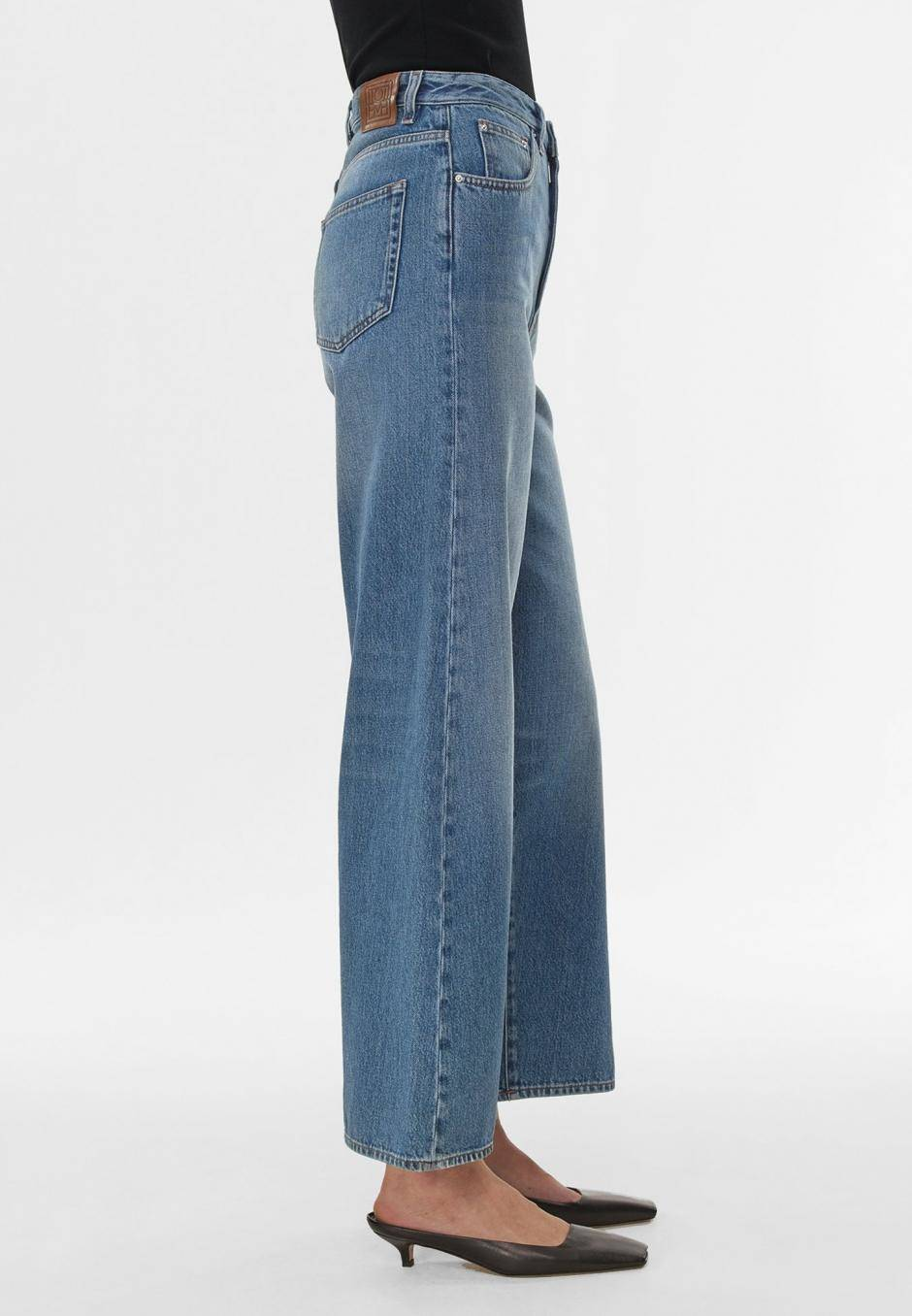 Totême Flair Denim Washed Blue