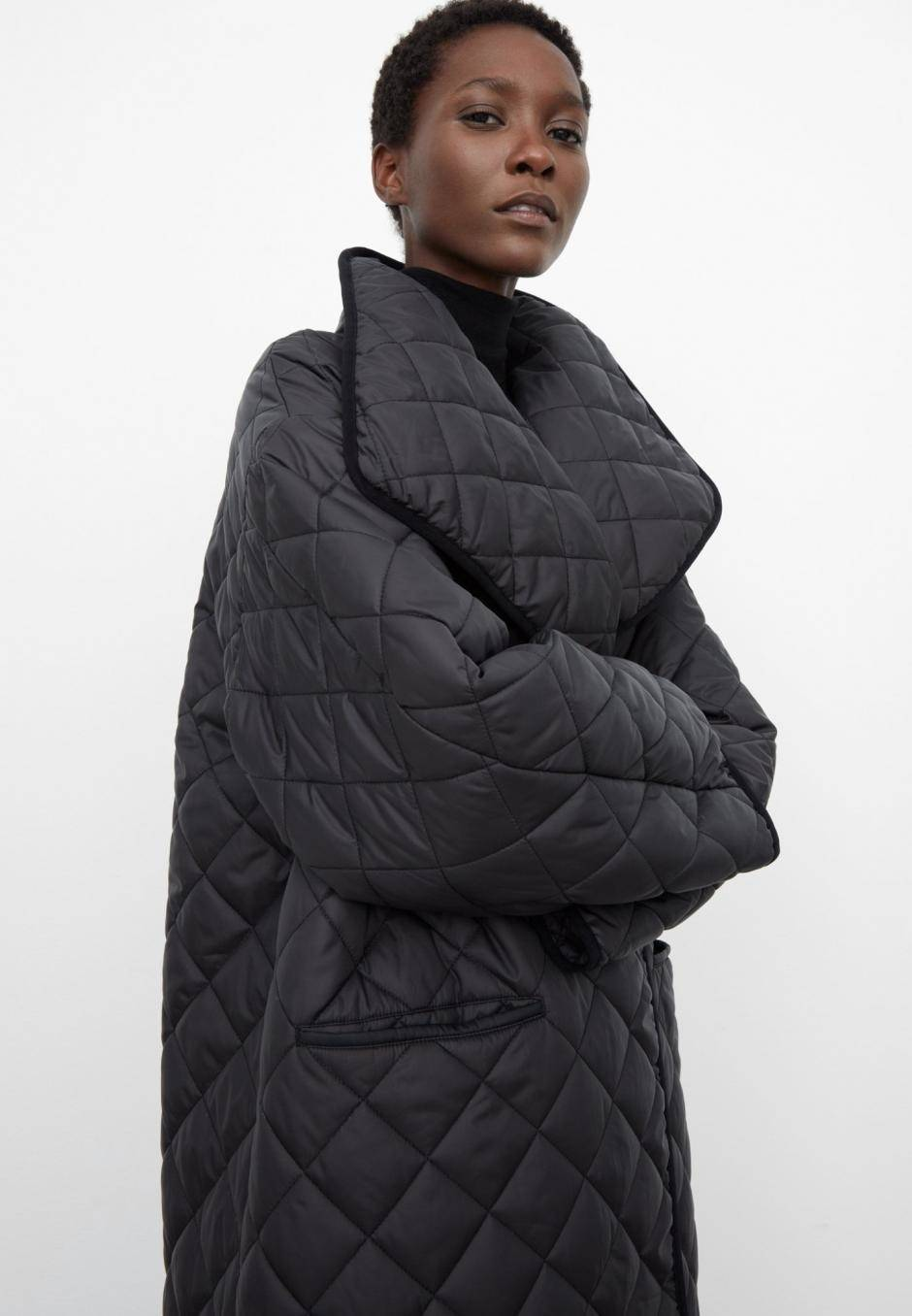 Totême Annecy quilted coat