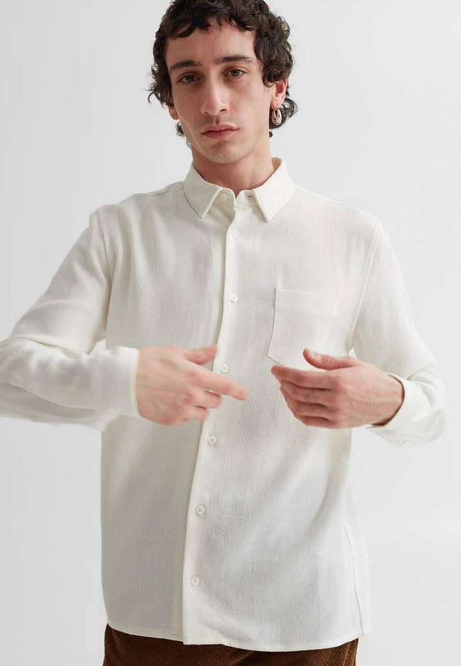 Séfr Hampus Shirt offwhite