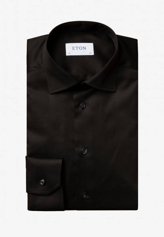 Eton Contemporary Fit Svart