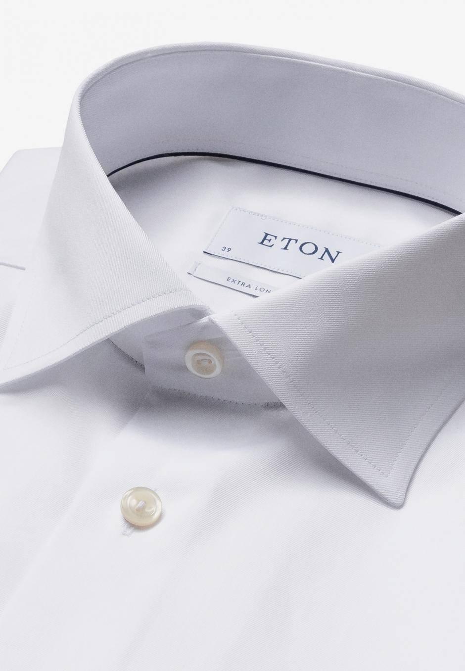 Eton Slim Fit Extra Long Sleeve Vit