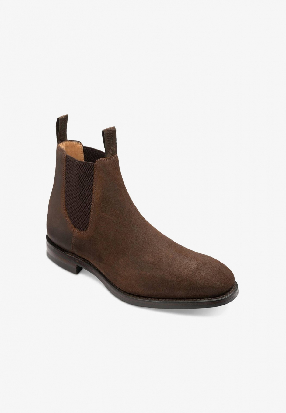 Loake Chatsworth Brown Waxy Suede