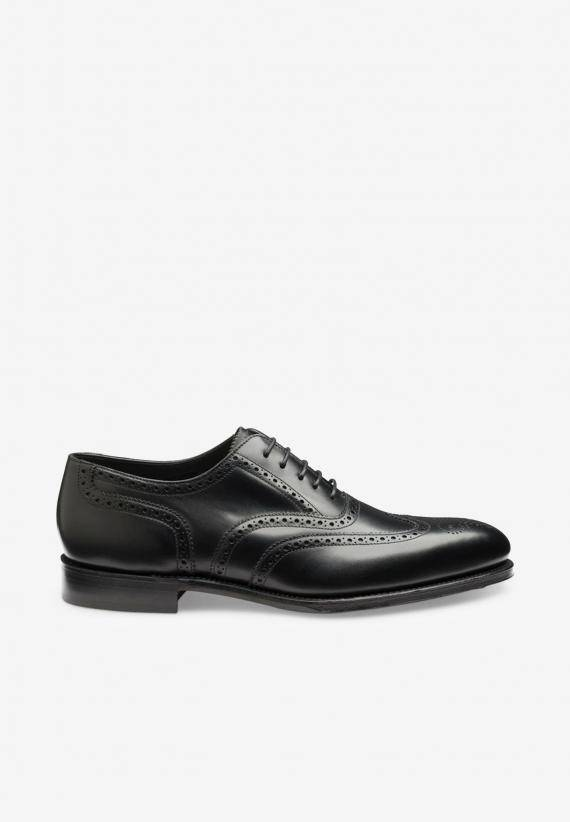 Loake Buckingham Black Calf