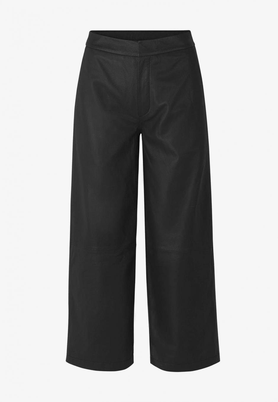Just Female Juanita Leather Trousers