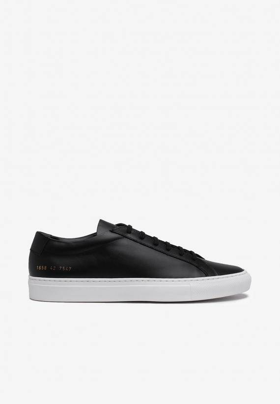 Common Projects Original Achilles Leather Black