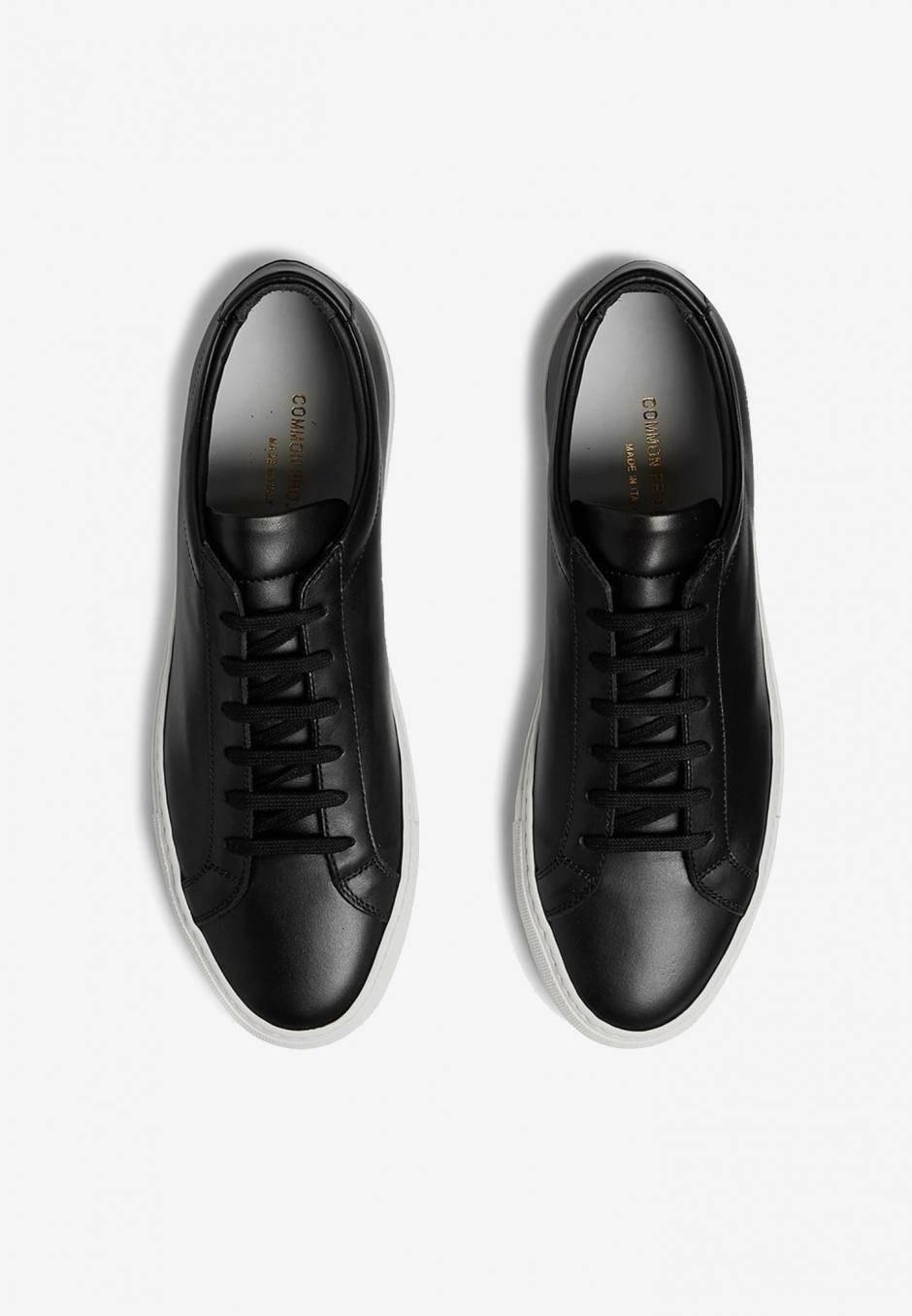 Common Projects Original Achilles Leather Black