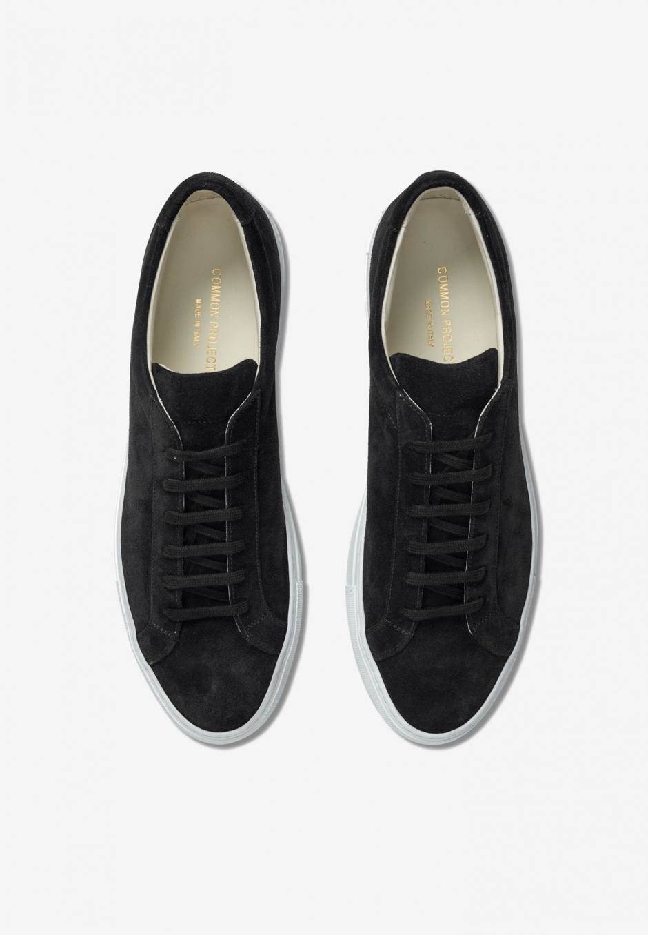 Common Projects Original Achilles Suede Black