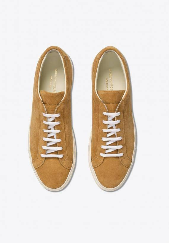 Common Projects Original Achilles Suede Tan